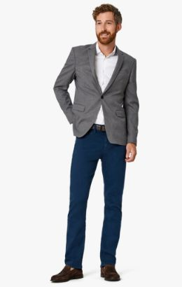 Charisma Relaxed Straight Pants in Petrol Comfort