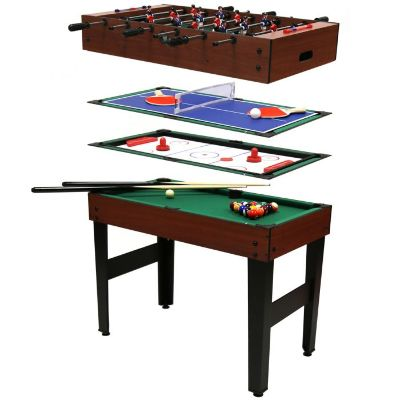 Charles Bentley 4-in-1 Multi Sports Games Table