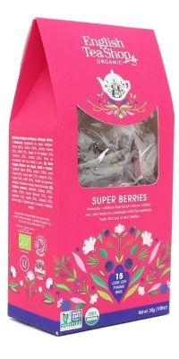 ENGLISH TEA SHOP SUPER BERRIES FRUIT TEA