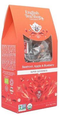FRUIT TEA ENGLISH TEA SHOP BEETROOT APPLE & BLUEBERRY