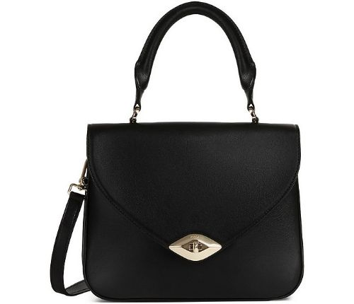 FURLA - Black Eye S Top-Handle Bag