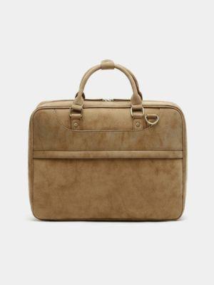 Men 14 Inch Laptop Bag Briefcases Handbag Crossbody Bag