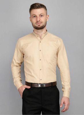 Men Kingsmode White Regular Fit Party Wear Shirt 2