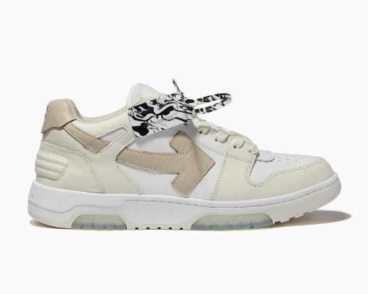 Off-White - Out Of Office Sneakers in Leather