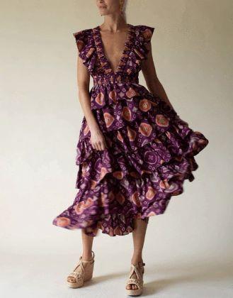 ULLA JOHNSON - Viola Gown