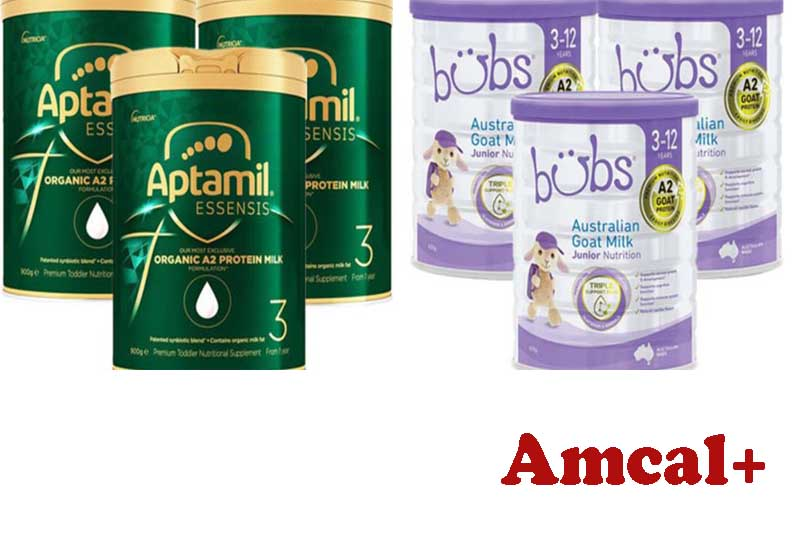 10 Best Selling Infant Milk Powder from Amcal