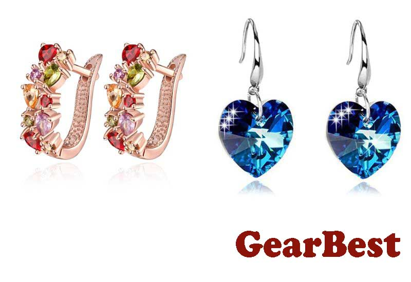 16 Awesome Earrings from GearBest