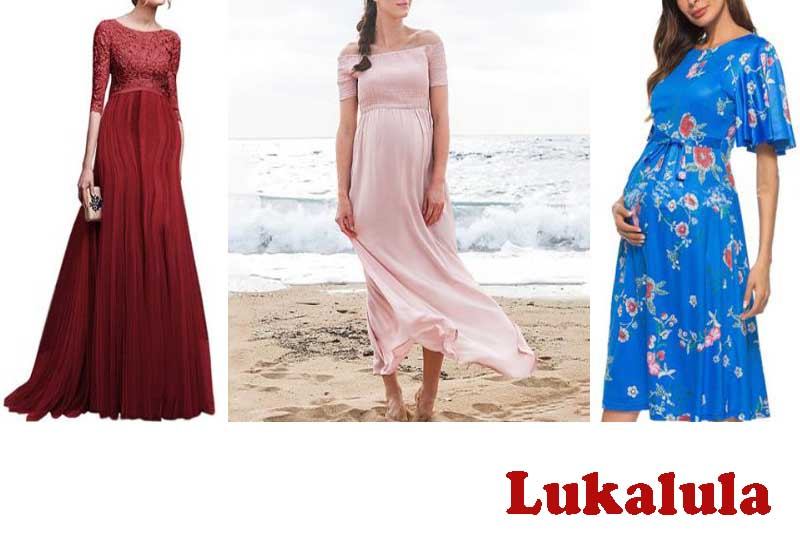 17 Best Selling Maternity Maxi Dresses from lukalula