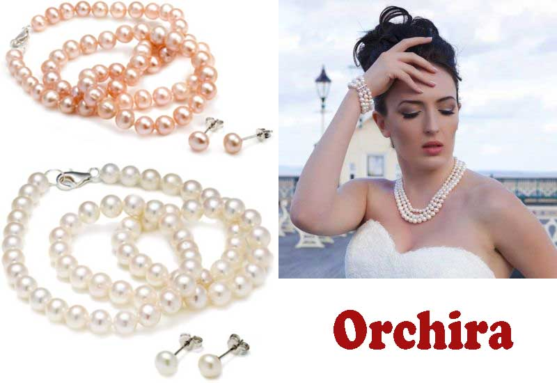 6 Awesome Pearl Jewelry Sets from Orchira