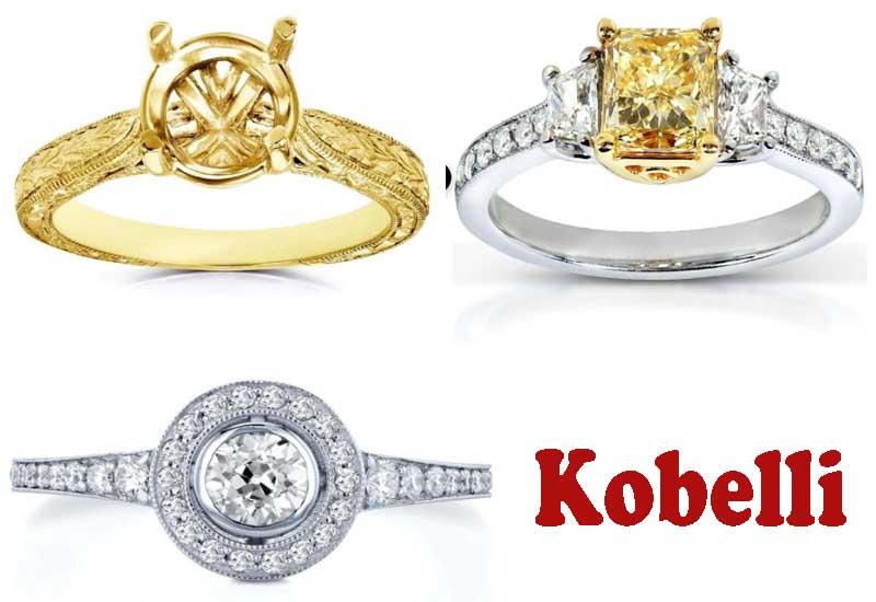 7 Best Selling Diamond Engagement Rings from Kobelli