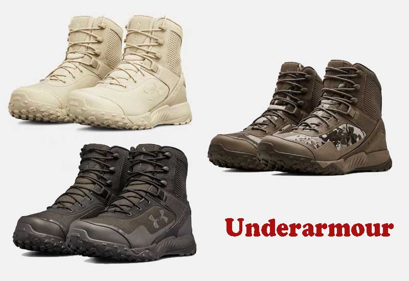 8 Popular Military and Tactical Boots from Underarmour