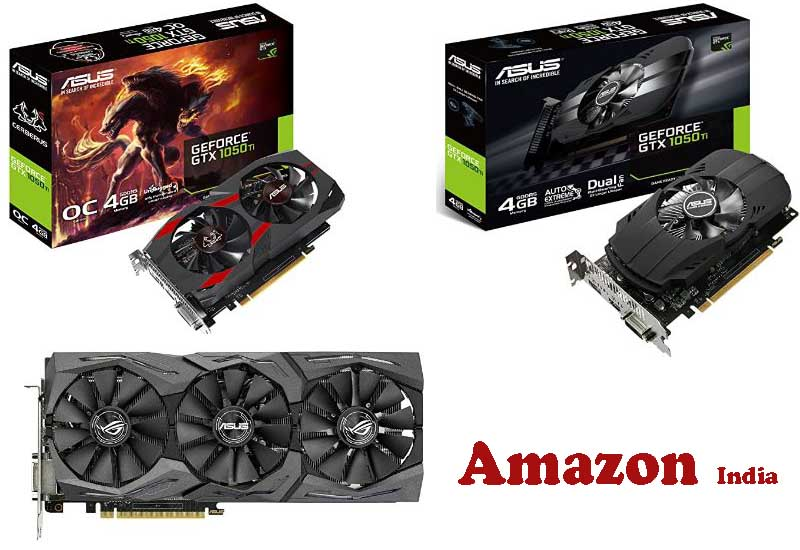 9 Best Selling Asus Graphics Cards from Amazon India