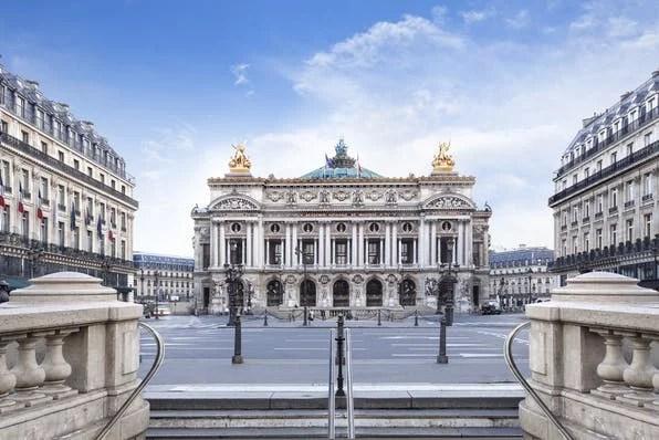 Entrance ticket to the Opéra Garnier