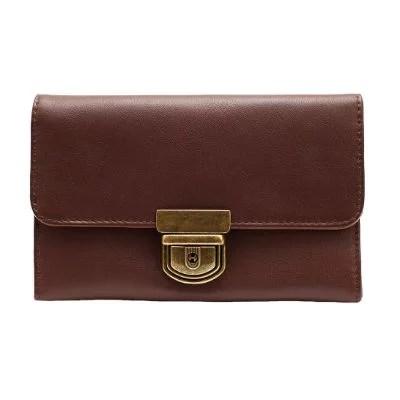FRANCIS BROWN - Brown Vintage Women's Wallet
