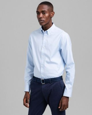 GANTRegular Fit Fil-à-Fil Check Pinpoint Oxford Shirt