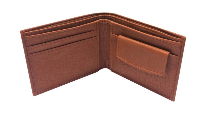 Genuine Leather Wallet For Men ( Brown)