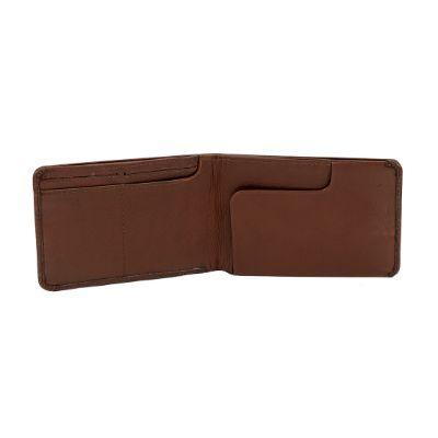 HUGO BROWN - Full Leather Passport Wallet