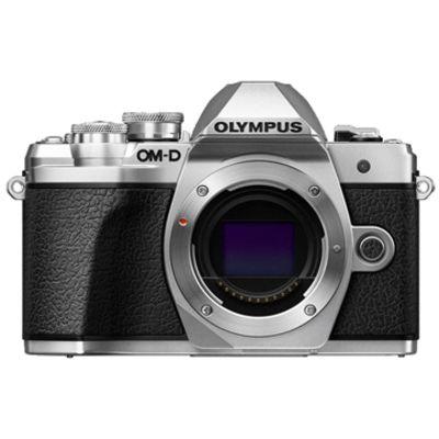 New Olympus OM-D E-M10 MK III (Body) Kit Digital Cameras Silver