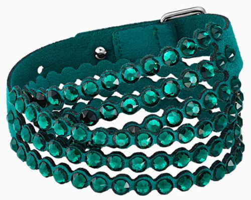 SWAROVSKI POWER COLLECTION BRACELET, GREEN (Available in 13 colors)