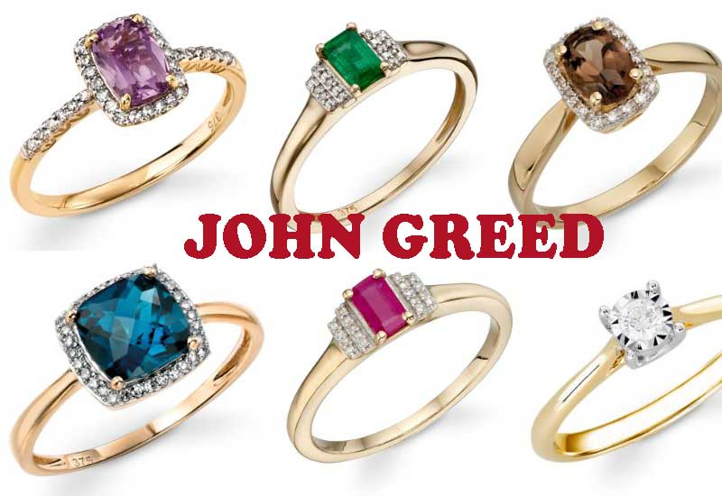 10 Awesome Gold Engagement Rings from John Greed