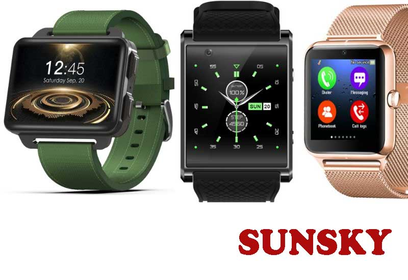 10 Best Selling SmartWatch Phones from SUNSKY