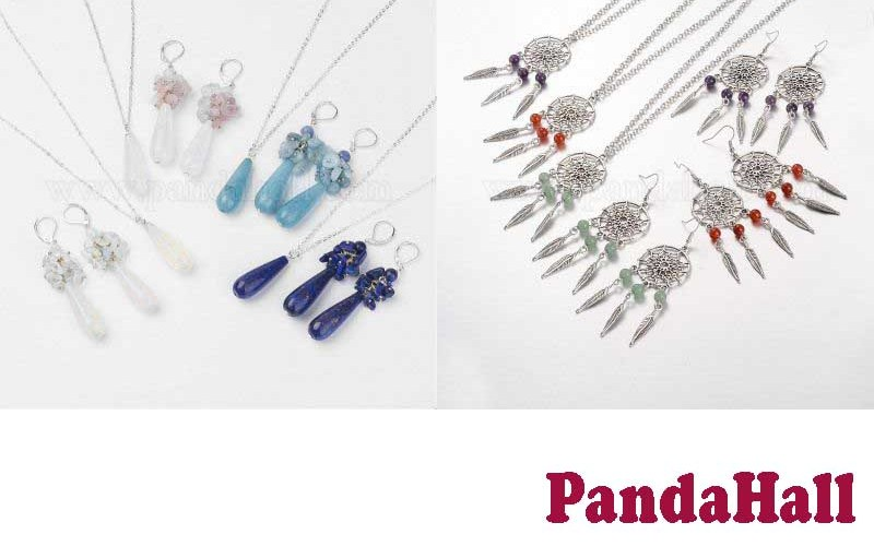 12 Best Selling Earring Necklace Set from PandaHall
