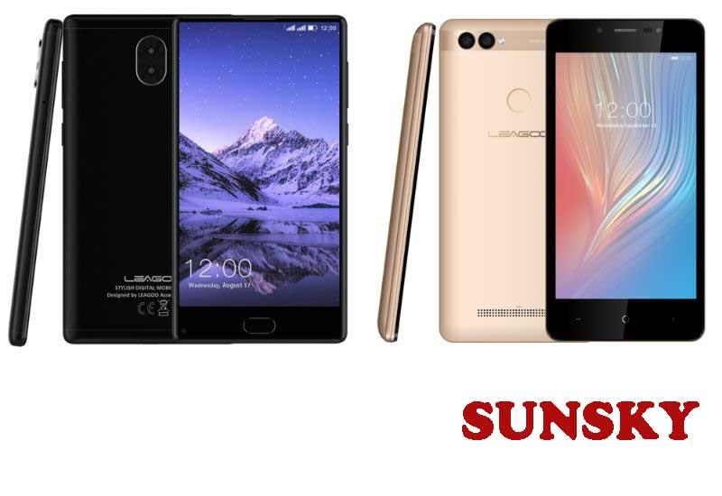 18 Best Selling LEAGOO Smartphones from SUNSKY