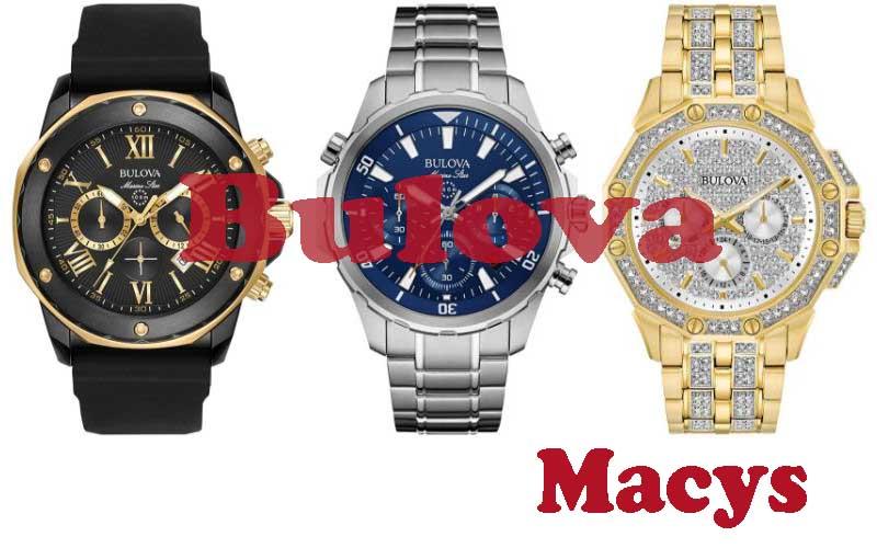 18 Best Selling Bulova Men Watches from Macys
