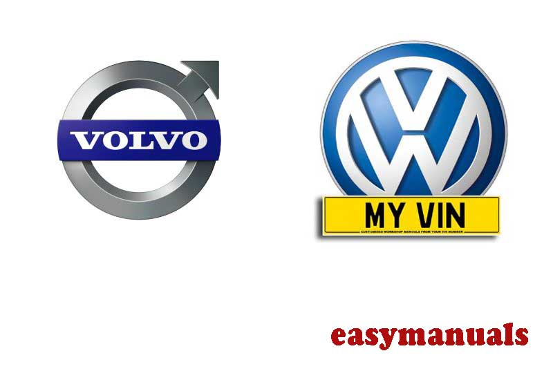 37 Best Rated Volvo and Volkswagen Manuals