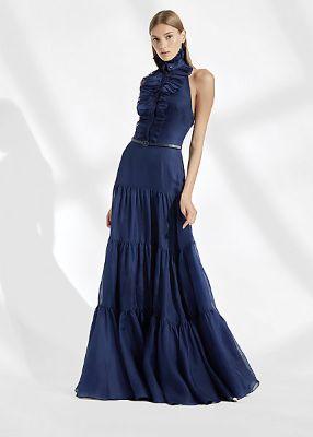 Emilia Silk Evening Dress
