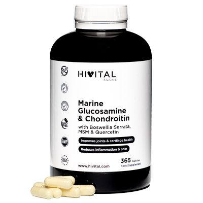 GLUCOSAMINE WITH CHONDROITIN | 365 CAPSULES