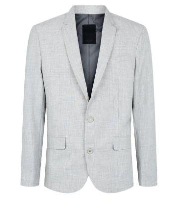 Light Grey Suit Jacket