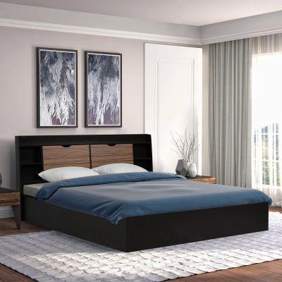 Nilkamal Riva Queen Bed (Wenge)