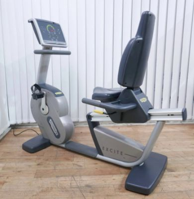 TECHNOGYM REFURBISHED EXCITE+ 500I RECUMBENT BIKE