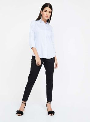 VAN HEUSEN Pinstriped Full Sleeves Shirt 2