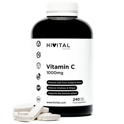 VITAMIN C 1000MG | 240 VEGAN TABLETS