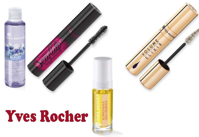 12 Best Selling Makeup products from Yves Rocher