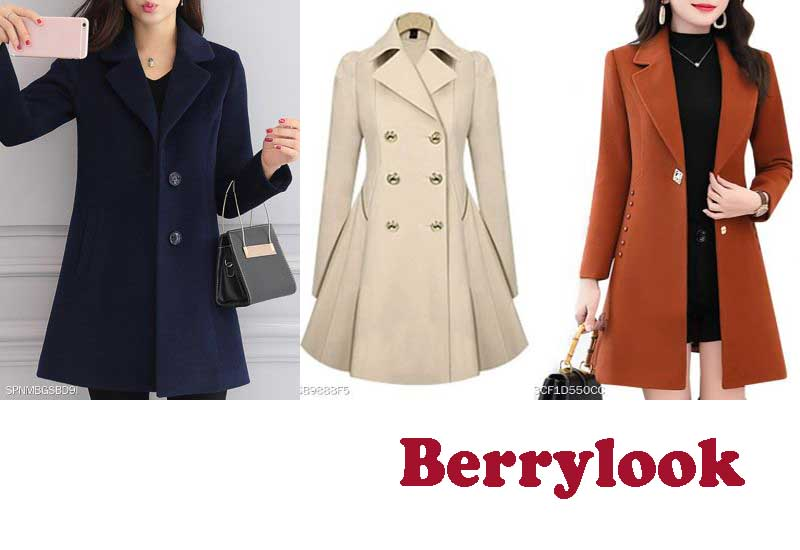 15 Best Selling Coats from Berrylook