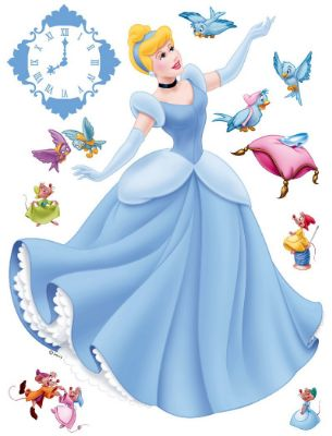 Disney Princess Cinderella giant sticker
