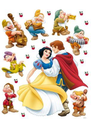 Disney Princess Snow White and Prince Charming giant sticker