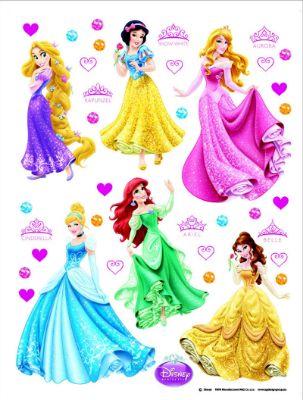 Giant Disney Princesses Stickers