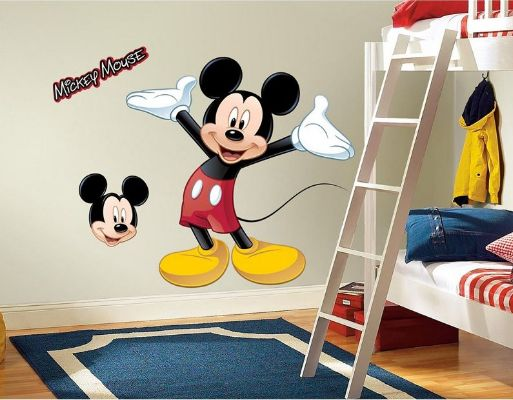 Giant Mickey Mouse Disney Stickers