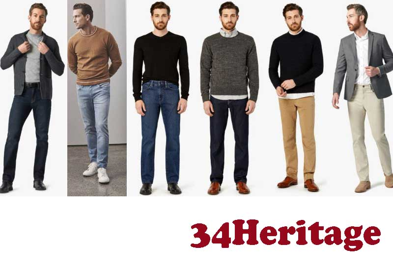 10 Best Selling Mens Denim and Pants from 34Heritage