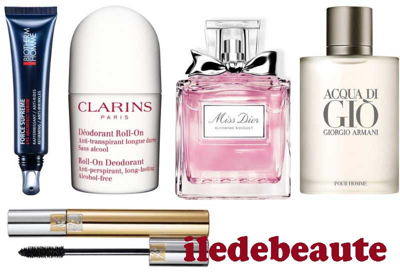 15 Best Selling Products from iledebeaute