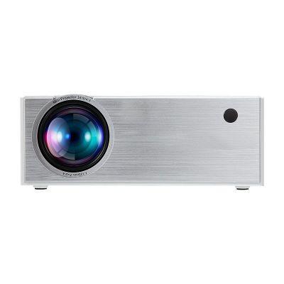 C7 2000 Lumens LED Video Projector Portable LCD Projector For Home Cinema AV USB HDMI VGA 3D LED Beamer white_Standard Edition-European Regulation