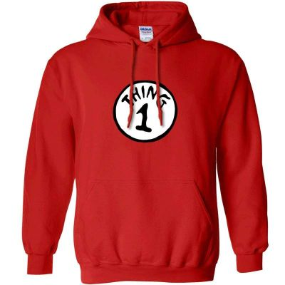 CAT IN THE HAT HOODIE - THING 1