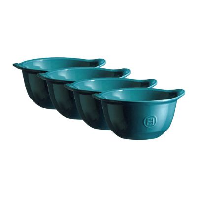 EMILE HENRY - Mixed Bowl Set - Set of 4 - Blue
