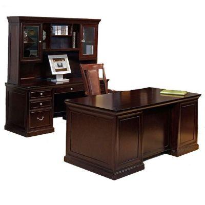 Fulton Espresso Three Piece Office Set