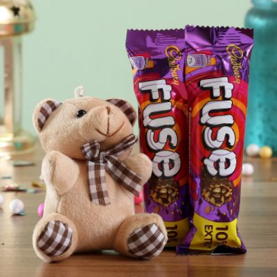 Fuse Chocolate & Teddy Bear