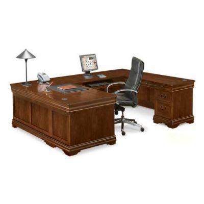 U-Shaped Desk with Right Return